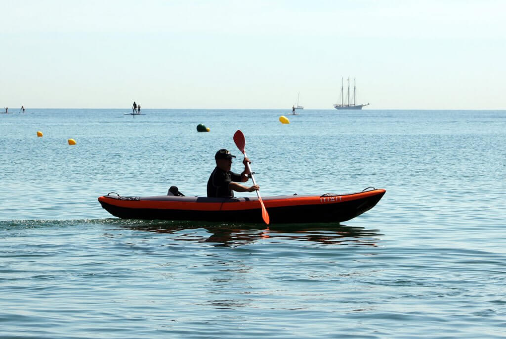 eSea propulsor para kayak
